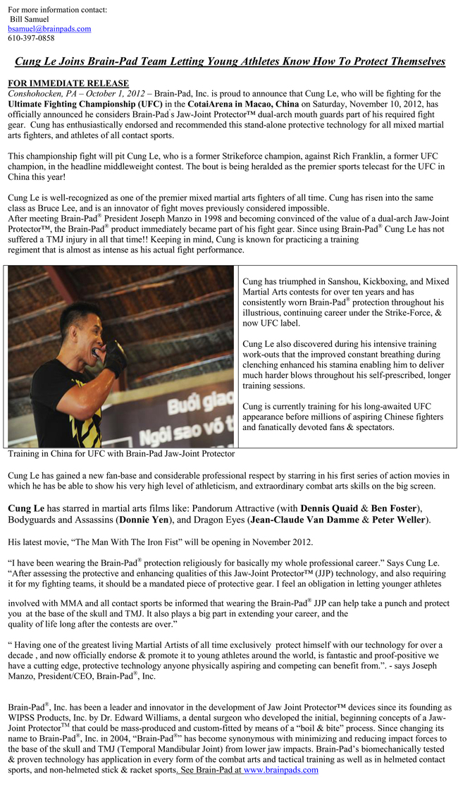 CungLe-Press-release-no-ufc-650