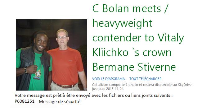 Bolan - Kliichkos HW Contact - Canada 08 2013