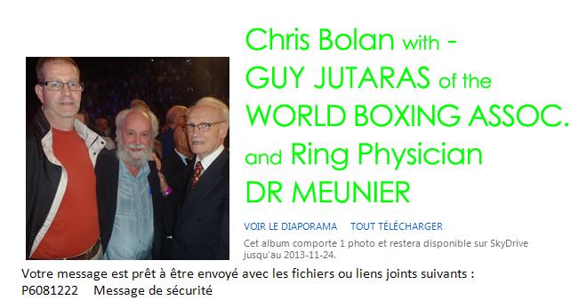Bolan WBA Contact - Canada 08 2013